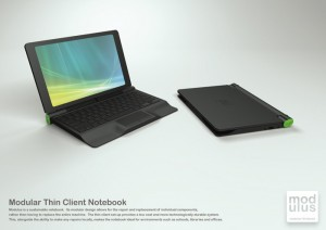 Modulus - Sustainable Notebook Computer