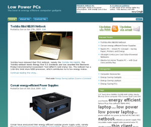 Old Low Power PCs Design
