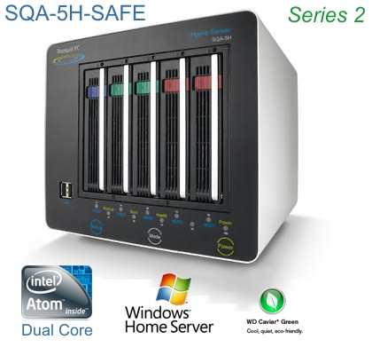 SQA-5H-SAFE Low Powered NAS System PC